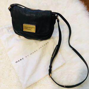 Marc Jacobs Leather Crossbody, Black